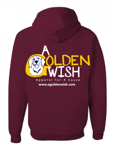 dog lover hoodie sweatshirt golden retriever canine cancer cure